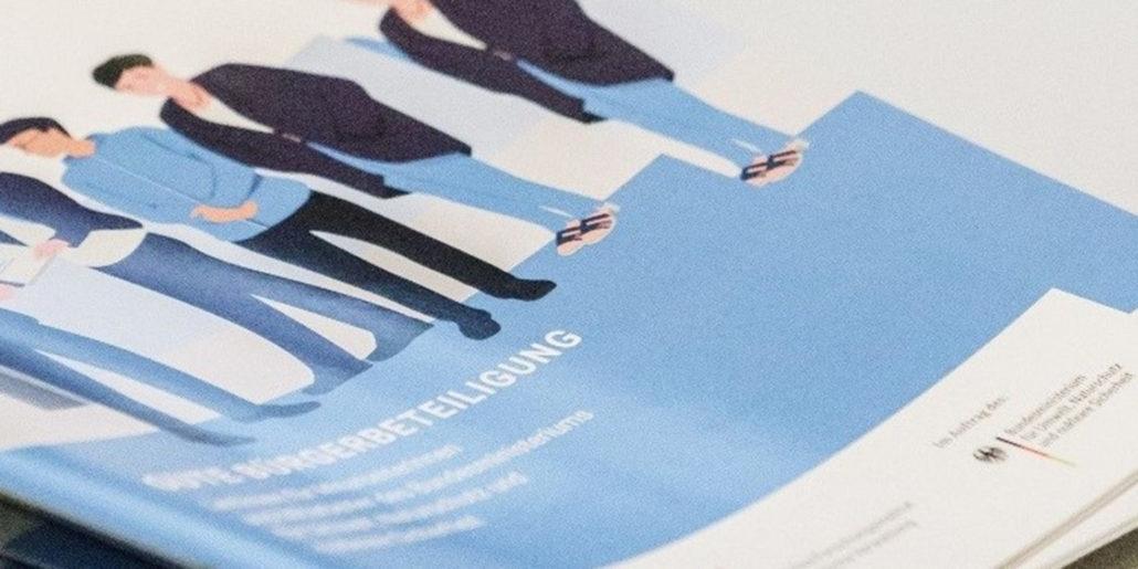 """Coverbild der Broschüre """"Gute Bürgerbeteiligung"""""""