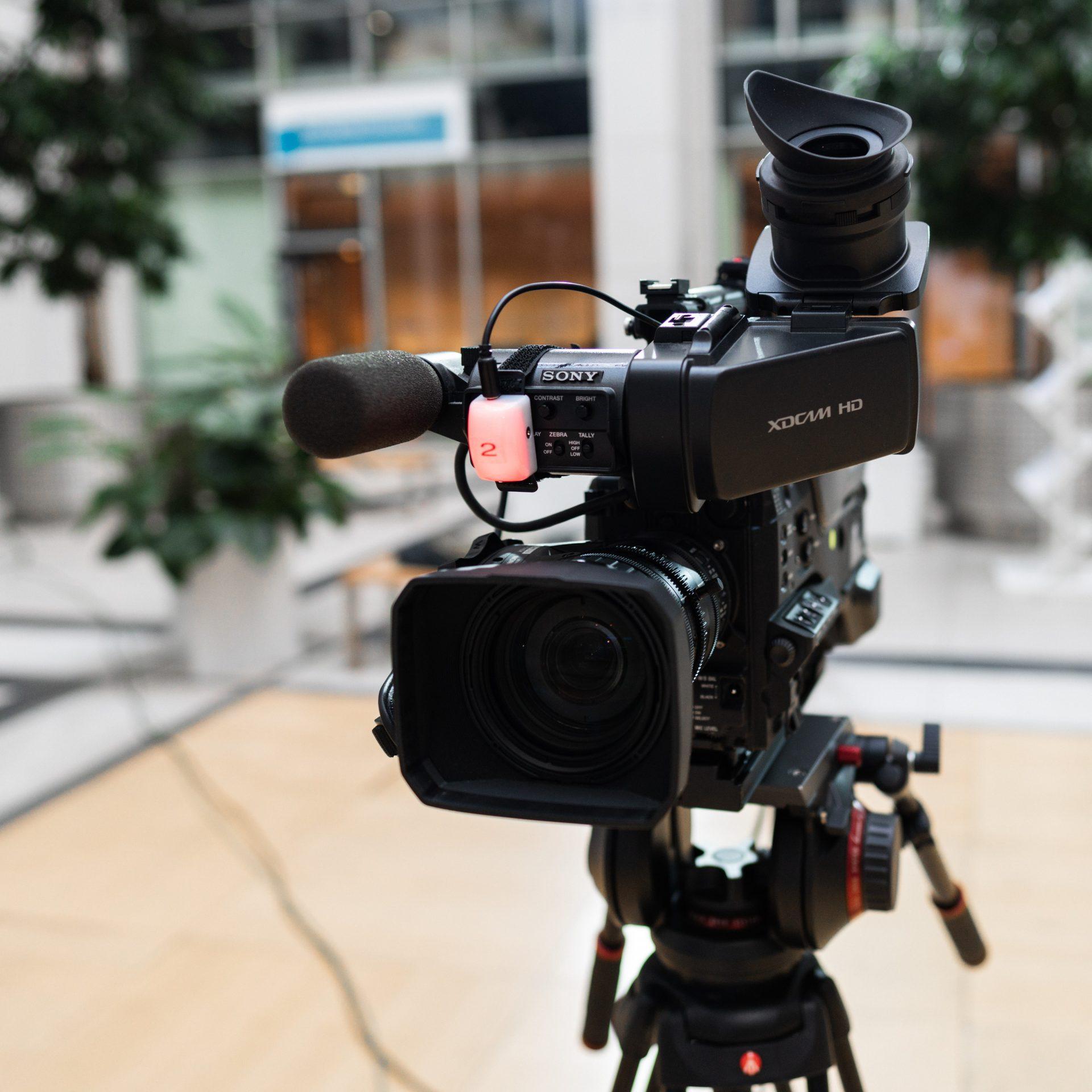 Ein Foto einer Kamera