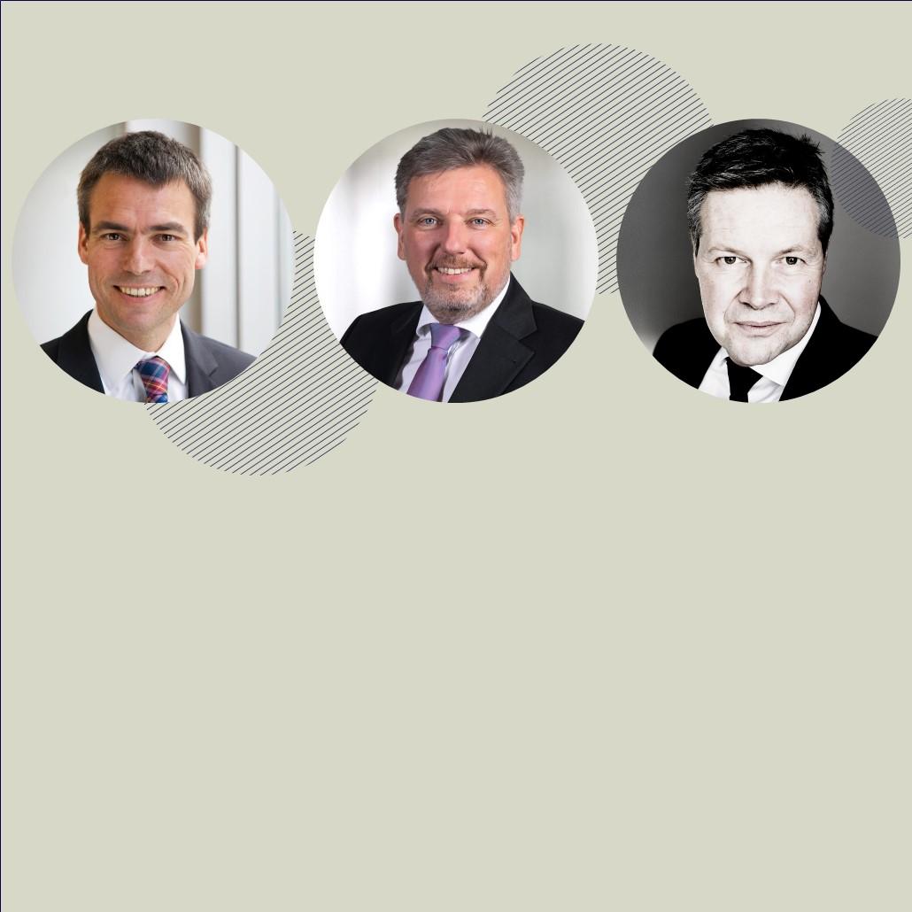 Die drei Geschäftsführer von ifok